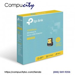 Adaptador WiFi USB Nano Inalámbrico N 150Mbps TP-LINK TL-WN725N
