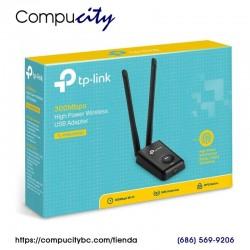 Adaptador WiFi USB Inalámbrico de Alta Potencia 300Mbps TP-LINK TL-WN8200ND