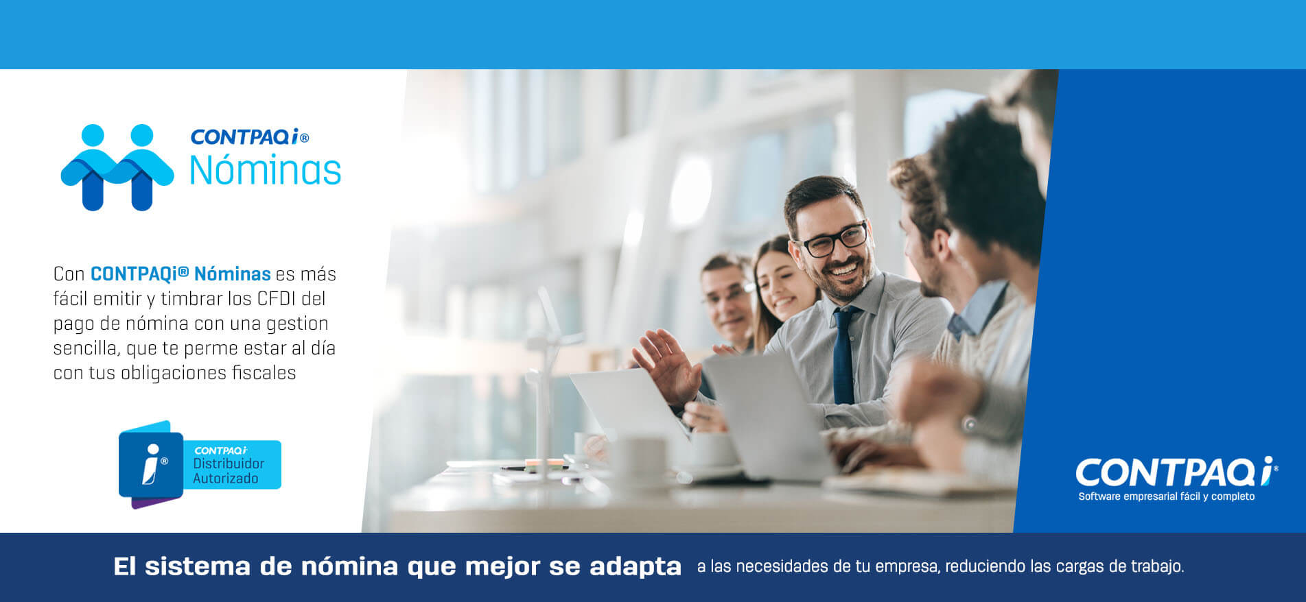 Contpaqi Nominas CFDI 3.3 Distribuidor Autorizado, Baja California, México